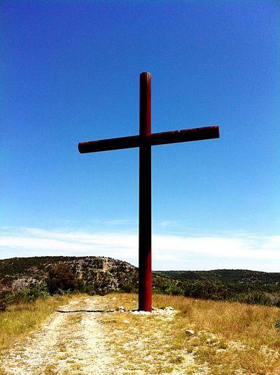 Cross Sky Outdoors Christianity Jesus Christ Prayer Redemption Hope Love
