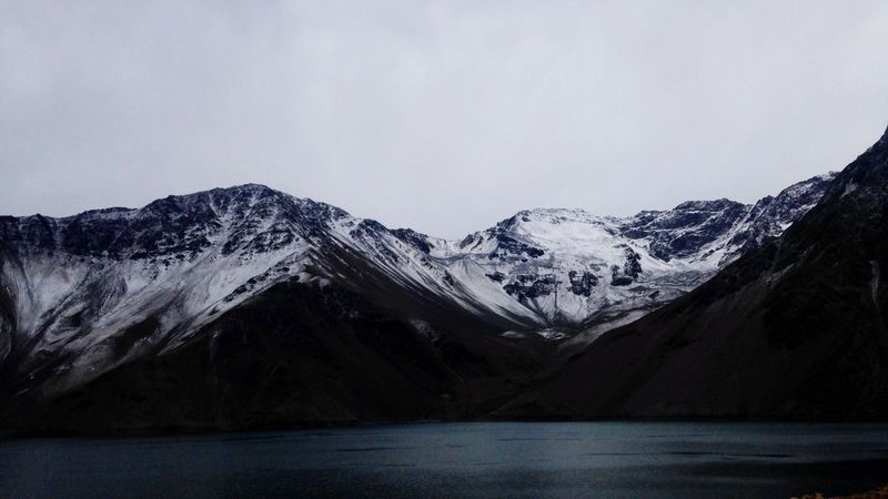 Embalse El Yeso Mountains Cordillera Chile