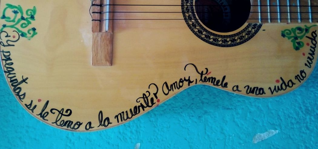 Guitarra Boho Decoracion Inspiracion Cute
