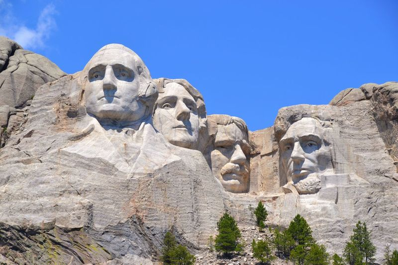 What would they think??? Outdoors Monument Mount Rushmore America