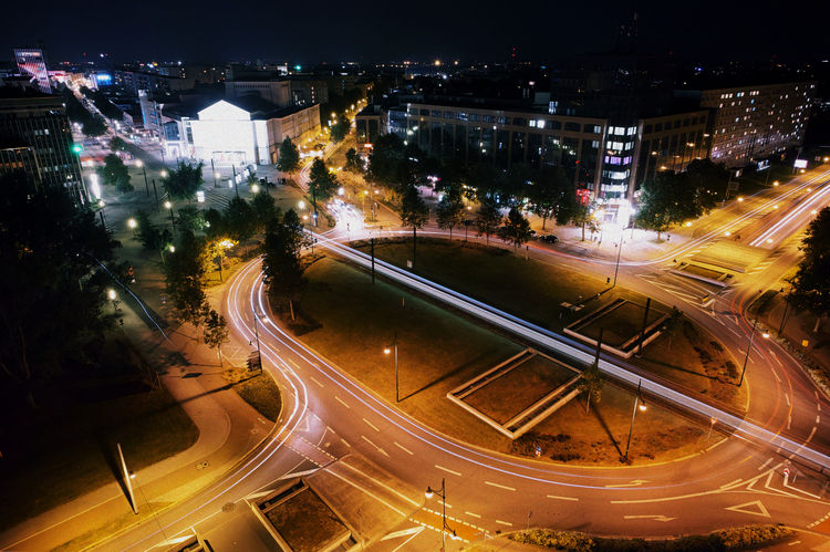 OVGU campus tower MD Campus Light Nightphotography Traffic Transportation City Cityscape Germany High Angle View Lighttrails Lighttrailsphotography Long Exposure Magdeburg Motion Night Ovgu Roundabout Saxony Anhalt Speed Tower University Mobility In Mega Cities