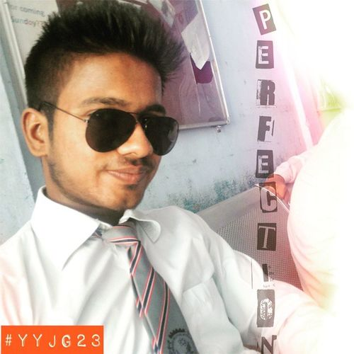 Selfie Perfection Awesomeness Black_shades College Masti Njymnt Bunking 😃😊☺😉😜😝😁😘👌👍✌🙌