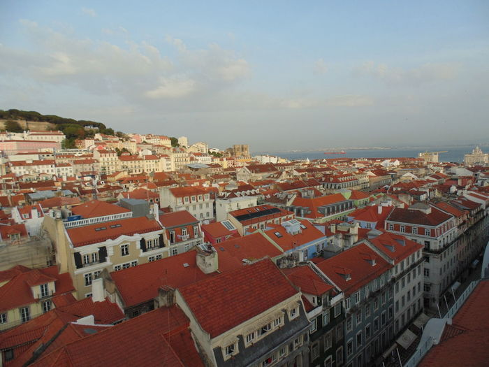 View over Lisbon from Elevador da Glória. (funicular) Lisbon, Portugal. Lisbon Roofs Rooftops Rooftop Roof Tile Cityscape Lisbon, Portugal Lisboa Portugal Lisbonlovers Cityscape Outdoors City Travel Destinations Architecture Sky No People Building Exterior