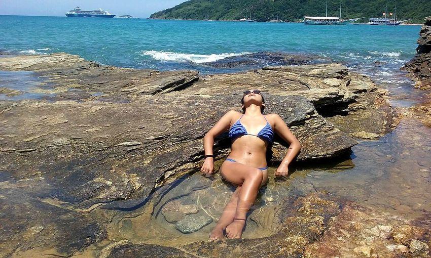Beach Sea Bikini Summer Nature Praia Buzios Tartaruga Sexywoman Brasil Travel Garota