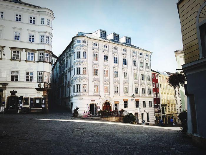 Linz Altstadt Architecture No People Clear Sky Building Exterior First Eyeem Photo