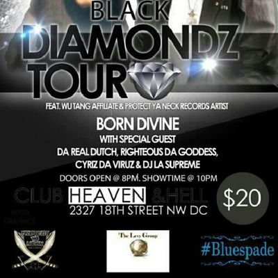 Righteousdagoddess performing live at club heaven and hell in DC dec.5th $20 at the door Clubheavenandhelldc Rdgtakeova