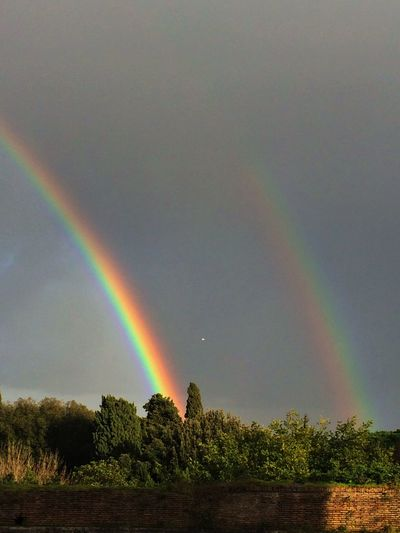 Double Rainbow Weather Wonders Rainbows Eye Em Nature Lover A Kitchen With A View Sky Capture The Moment