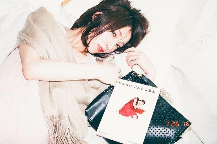 Film Fashion Girl Film Photography Tokyo Days Natural Light Portrait Filmphotographer Filmisnotdead Japanesegirl Ultimate Japan Make Up Red Lips