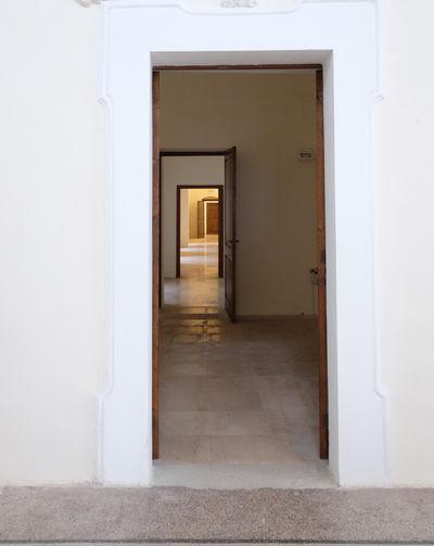 Doorways in building