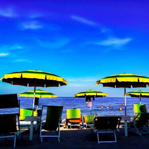 Beach Sea Blue