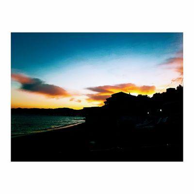 Avsaadasi Sunset Water Beach No People Beauty In Nature Nature Sky