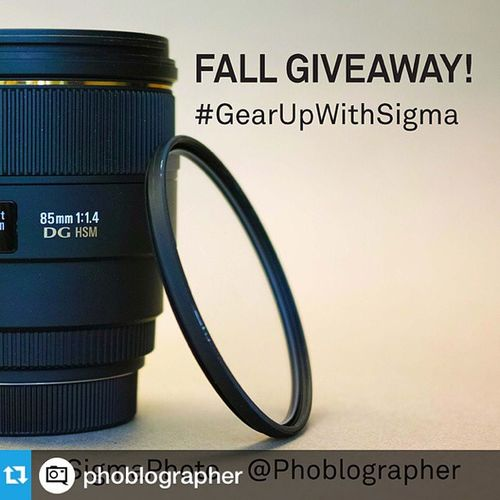 Repost from @phoblographer with @repostapp GearUpWithSigma Photo Vancouver --- Ready to win a Sigma 85mm f1.4 lens from us at @sigmaphoto? Head over to the site to see how. gearupwithsigma