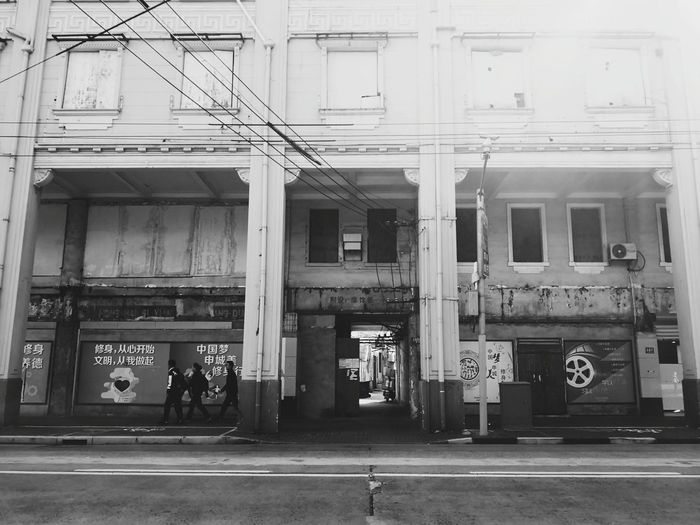 Travel Photography Huaweimate10pro Huawei Travel Blackandwhite Black And White Streetphotography Sity Traveling City Architecture Building Exterior Built Structure
