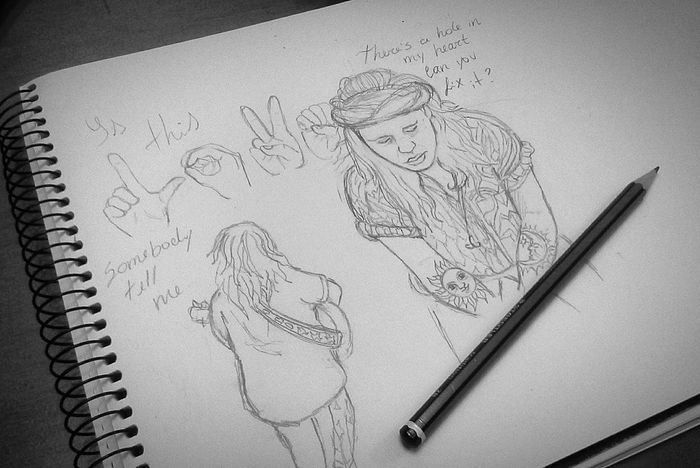 ashi Drawing Process