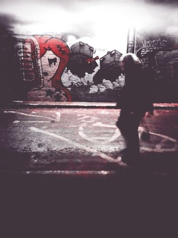 Yoshimi & The Robots Streetart Andrographer DroidEdit Writing On The Walls