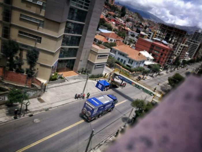 DAKAR2017 La Paz Bolivia Car High Angle View City Cityscape Residential Building First Eyeem Photo