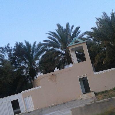 تصويري  يومياتي هاشتاق فوتو_غرافي حوطة_بني_تميم حي_القويع مزرعه جنبها مسجد منظر جميل مرهه ?