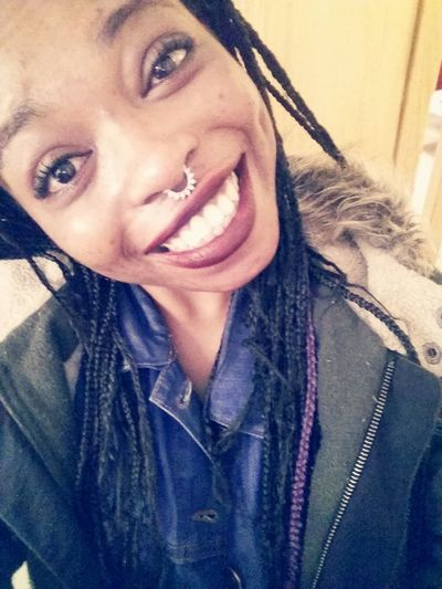 High Happy Newseptumring Blackgirl Smiling