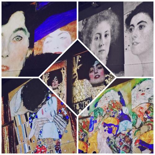Klimt experience Klimt Reggia Di Caserta Only Women Kiss Bacio Di Klint Bacio  Arts Culture And Entertainment Art Art Is Everywhere HuaweiP9 Huawei P9 Leica