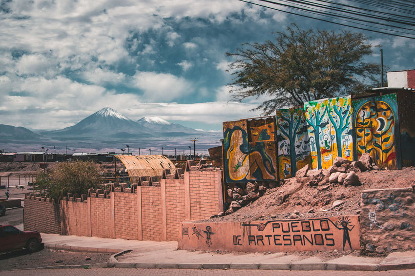 Exploring the surroundings of San Pedro de Atacama, Chile. Desert Latin America Nature Planet Earth Spanish Text Travel Tree Adventure Arid Climate Art Climate Dry Explore Fence Landscape Mountain Mountain Range Outdoors Scenics South America Streetart Town Travel Destinations Village