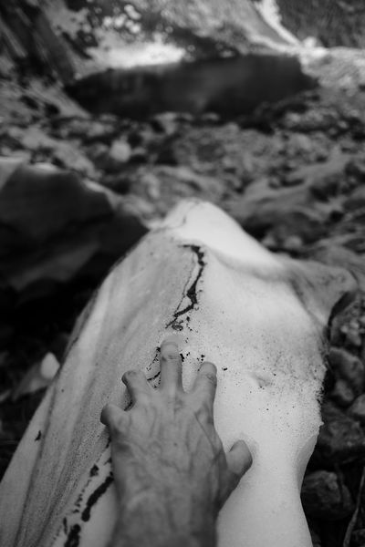 Hand in Eternal Snow barefoot Body Part Close-up Day Finger Focus On Foreground Hand Human Body Part Human Hand Lake Land Leisure Activity Lifestyles Low Section Men Nature People Personal Perspective Real People Relaxation Selective Focus Snow