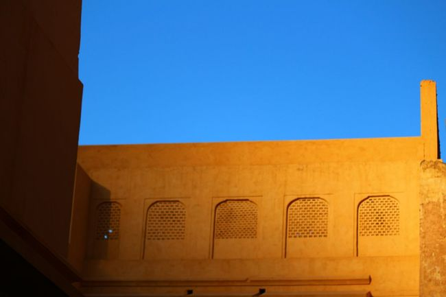 The shadow crept on... (Untouched pic) Jaipur Rajasthan Shadow Building Exterior NahargarhFort Nahargarh Architecture Wall Sky Clear Sky City