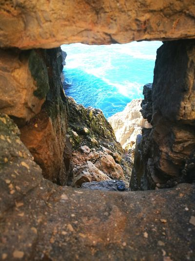 Rock Formation Geology Nature Beauty In Nature Day Cliff No People Landscape Scenics Power In Nature Sea