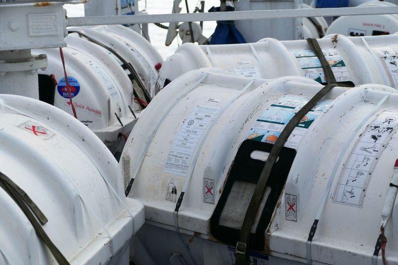Emergency Schiff Kreuzfahrtschiff Rettungsboot Rettungskapsel