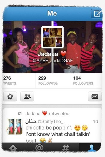 uuuugggghhhhh i need some moreee Followers on twitter, so go Follow me @AYEE_JadaDGAF
