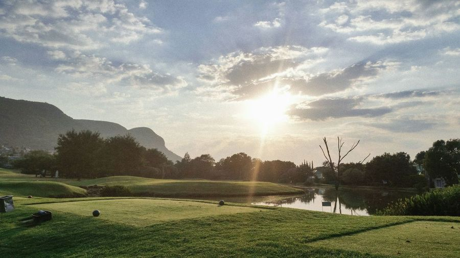 The Great Outdoors - 2017 EyeEm Awards Grass Tree Beauty In Nature Tranquility Sunlight No People Golf Course Outdoors Nature Faces Of Africa South Africa Faces Of EyeEm My Best Photo