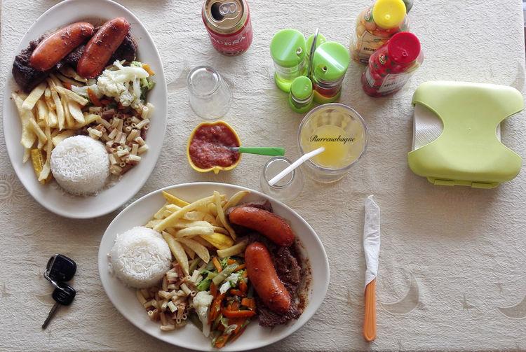 Rurrenabaque Bolivia Food Cabañas Restaurante Beef Beni