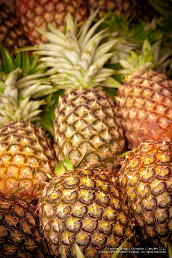 Pineapple. Spikey and juicy. Eeyemphilippines Pineapple Fruits Yellow Tropical Fruits