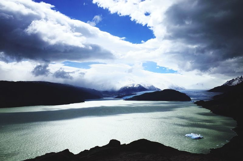 Cloud shadows over Lago Grey, Torres del Paine NP, Patagonia. Open Edit Patagonia Landscape Hiking Traveling