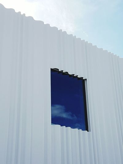No People Day Outdoors Fabrics Window Plastic Building Exterior Industry Vitra Vitra Campus Architecture Blue Sky Cloud - Sky Built Structure