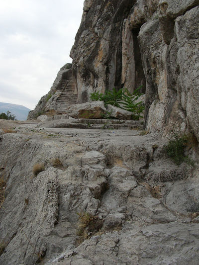 Amasya Ancient Civilization Ancient Steps Day Nature No People Rock Cut Architecture Rock Tombs Tourist Attraction  Travel Destinations Travel Photography Turkey