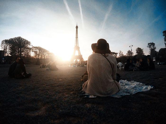 When in Paris!