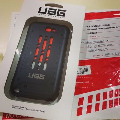 Finally! Uag Note2