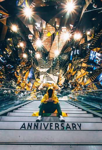 Paint The Town Yellow Street Illuminated Indoors  Transportation Architecture Building Exterior City HongKong The Week On EyeEm Discover Berlin The Architect - 2017 EyeEm Awards The Street Photographer - 2017 EyeEm Awards The Great Outdoors - 2017 EyeEm Awards Been There.