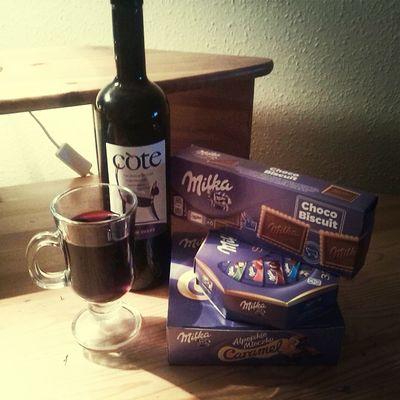 Relaxing Ilovemilka Wino taki mamy klimat.. jesiennego wieczoru..;)))