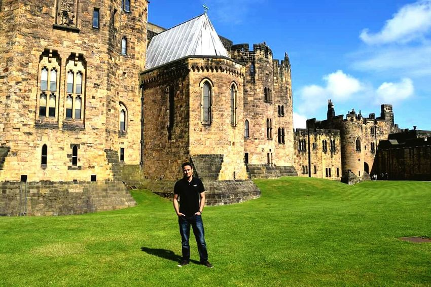 At Alnwick Castl, Harry potter 2 was filmed here !! Northumberland Alnwick Castle Beautiful Historical Place Neighborhood Map