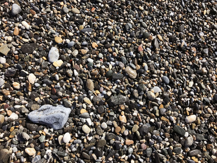 Beach stones at surf Beach Beauty In Nature Close-up Day Full Frame Large Group Of Objects Nature No People Outdoors Pebble Pebble Beach Rock - Object Shore Stone - Object