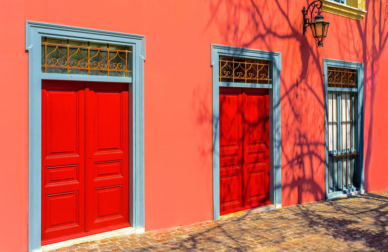 Closed Doors Of House