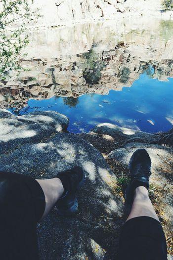 Prescott, AZ Roadtrip Water Reflections