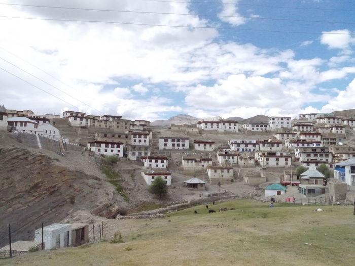 Highest Village In The World Highest Village Land Himalayan Rang Himalayan Road Kibber Village Tibetan