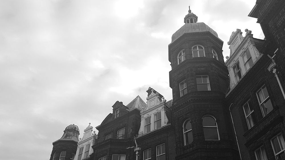 Sky Built Structure Architecture Building Exterior Tower Outdoors No People Clock Tower Cromer Norfolk Coastline Architecture_collection Architectural Detail Architectural Feature