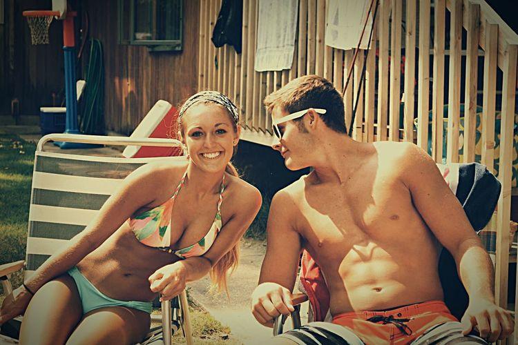 Boyfriend Vacation Torch Lake Vintage Love Summer