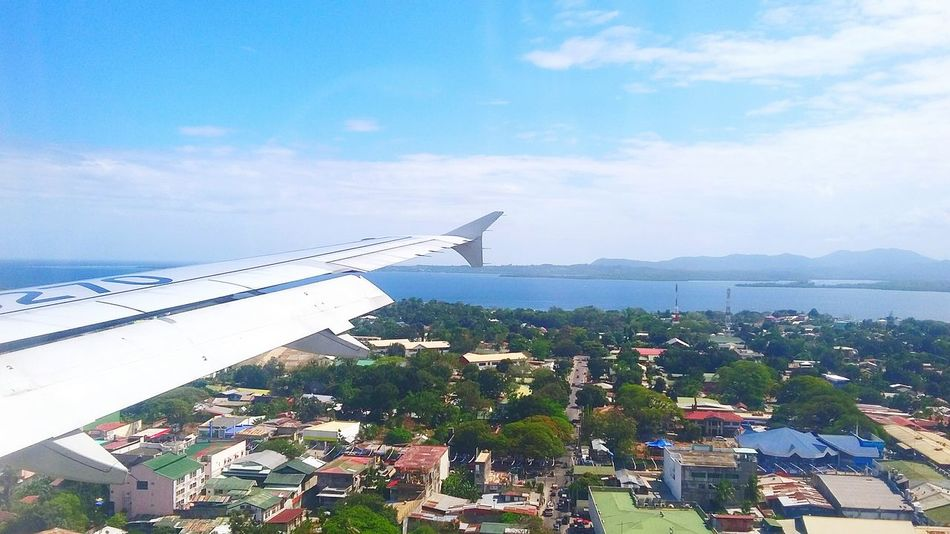 Capture The Moment Throwback Thursday On A Plane Way Home Palawan Travel ✈❤