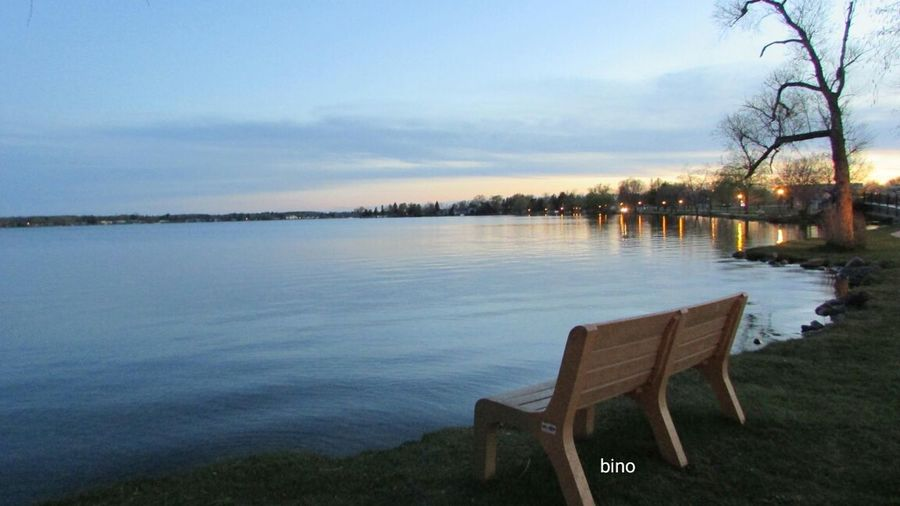 Taking Pictures Evening Chill Tranquility Have A Seat Little Chilly! Bring A Hoody! Lake Cadillac Pure Michigan
