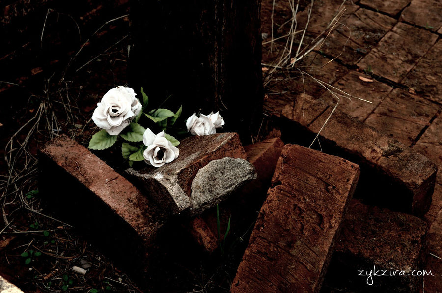 Cemetery Cemetery_shots Plasticflower Old Cemetery Hello World Taking Photos Taking Pictures Deterioration Astimegoesby