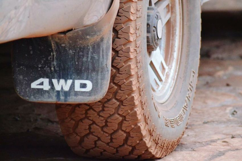 4x4 4wd Terrain Tire Outdoors No People Close-up